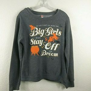 38440e3e9 3/30 Halloween Witch Sweatshirt Sweater. $15 $35
